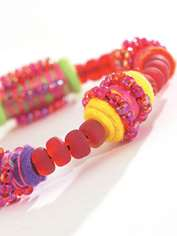 Fruit Spangle Bangle