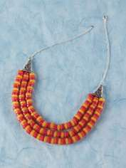 Three-string Necklace