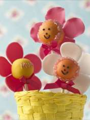Mother's Day Flower Cake Pops