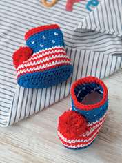 Stars and Stripes Booties