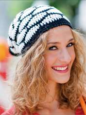 Chic Black and White Beanie