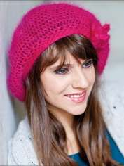 Pretty in Pink Beanie