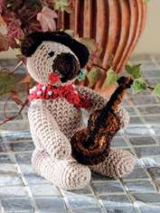 Juan the Flamenco Bear