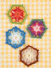 Picot Hexagon