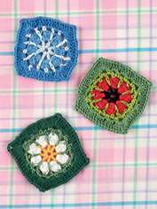 Poppies & Daisies to Crochet