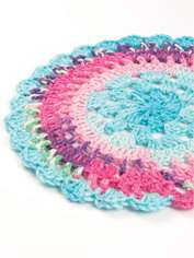 Sock Yarn Mandala