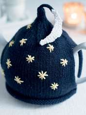 Stars and Moon Tea Cosy