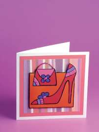 Sophisticated Shoe Card