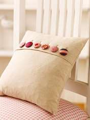 Buttoned-up Cushion
