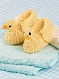 Duckling Bootees