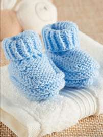 Simply Blue Bootees