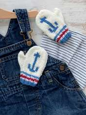 Anchor Baby Mitts