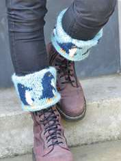 March of the Penguins Boot Cuffs