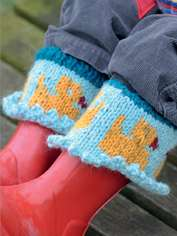 Quackers Boot Cuffs