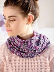 Purple Mist Snood