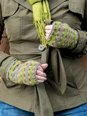 Autumn Wrist Warmers