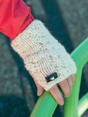 Playful Wrist Warmers