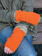 Scallop Wrist Warmers