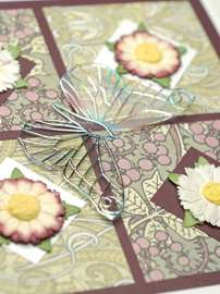 Lazy Daisies Card
