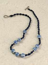 China Blue Necklace