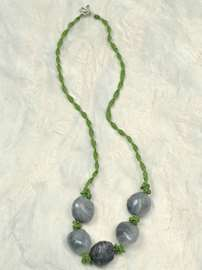 Willow Green Necklace