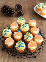 Winter Warmer Cupcakes