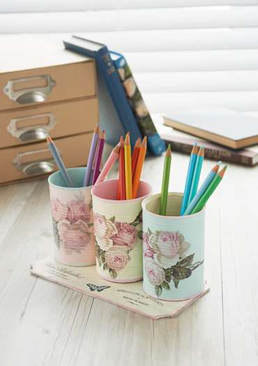 Desk Tidy Pots