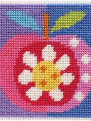 Needlepoint Apple