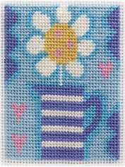 Jug and Flower Needlepoint