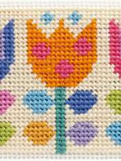 Needlepoint Tulips