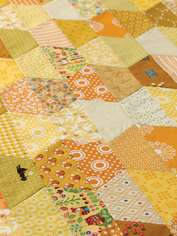 Half-hexagon Quilt