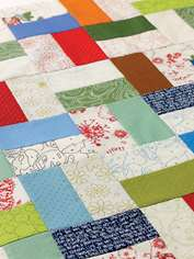 Rectangle Triangle Quilt