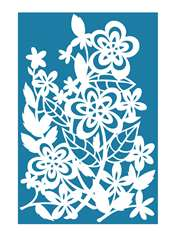Bouquet Papercut