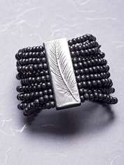 Black Feather Bracelet
