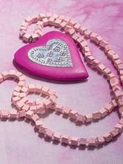 Funky Heart Necklace