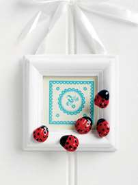 Ladybird Button