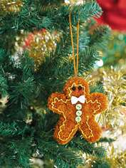 Gingerbread Man Pompom