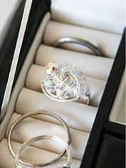 Swirled Multi-strand Ring