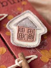 Cottage Brooch