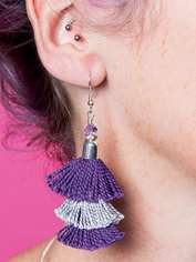 Flamenco Fan Earrings