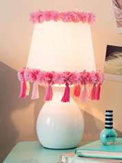 Pretty Pink Lampshade