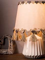 Rustic Chic Lampshade