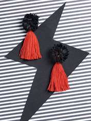 Volcanic Flame Earrings