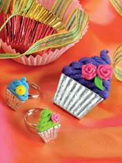 Cup Cake Brooch